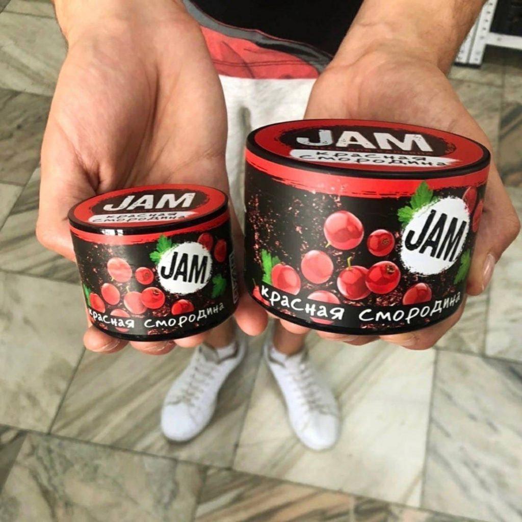 Фасовка кальянной смеси JAM
