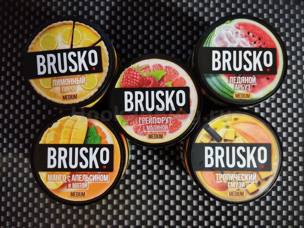 4 дроп вкусов BRUSKO